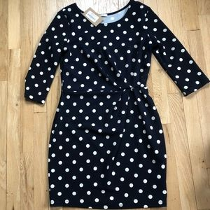 Le Lis Polka Dot dress